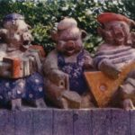 Four wise monkeys Buddhist principle
