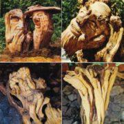 Treefolk-gossips, Thumbelina, Pan and Nymphs