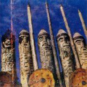 Wooden warriors