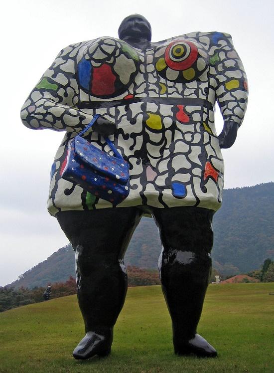 Japanese first open-air sculpture park Hakone