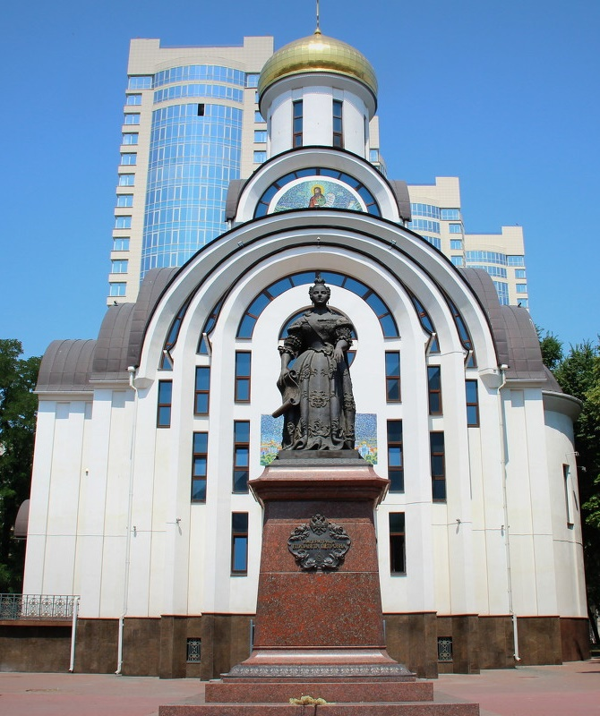 Opened June 27, 2007, in Rostov-on-Don, a monument to Elizabeth Petrovna (Empress), the founder of the city of Rostov-on-Don