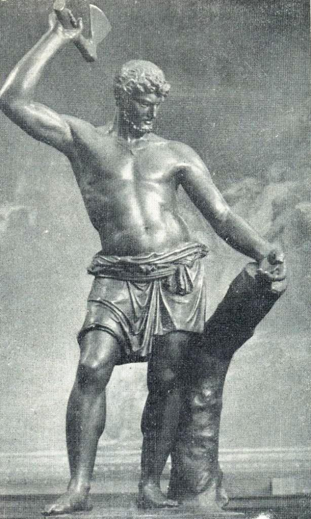 The Russian Scaevola. 1813. (famous for his bravery Roman youth Gaius Mucius Scaevola)