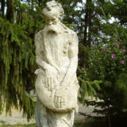 Old man's sculpture