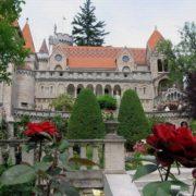 The castle of eternal love in Székesfehérvár, near Budapest (Hungary)