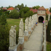The result of hard work of the architect and sculptor Bory
