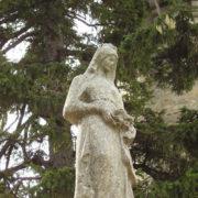 Woman's sculpture