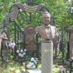 Operetta king Mikhail Vodyanoi grave monument