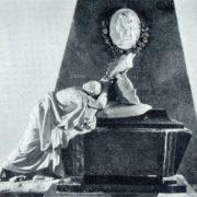 Gravestone of PA Bruce. 1786-1790. Marble, granite. Moscow, Golitsyn Tomb of Donskoi monastery