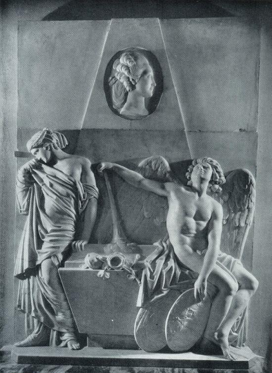Russian memorial sculptor Ivan Petrovich Martos 1754-1835