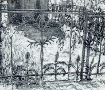 KF Kracht. Gravestone Buryshkin. 1912-1916. Granite. Moscow, The Old Necropolis of the New-Maiden Monastery