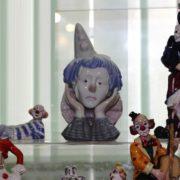 Porcelain clowns