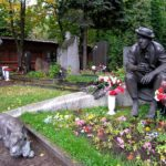Legendary Russian clown Yuri Nikulin monuments