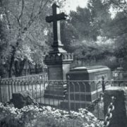 Unknown master. Gravestones of VG Belinskiy and NA Dobrolyubov. The end of the 1860s. Granite. Literary bridges Volkov cemeteries