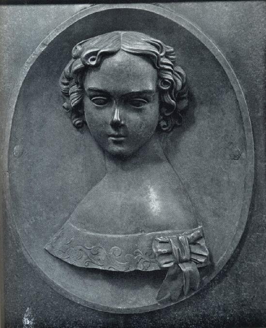 Unknown sculptors Russian cemetery monuments. O. Urusova's headstone. Fragment. 1840. Bronze. Necropolis of the XVIII century. St. Alexander Nevsky Lavra