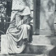 Grave monument by Unknown master. The tomb of the Fuld family. 1912. Marble, granite. Moscow, Vvedenskoe cemetery