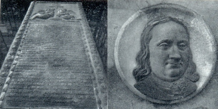 Ya. Zemelgak. The tomb of S. Yakovlev. 1785. Marble, gilded bronze. Petersburg, Necropolis of the XVIII century