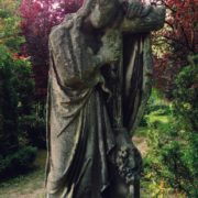 Cemetery sculpture. Stories behind weeping monuments
