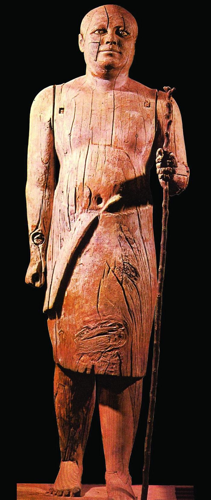 Kaaper, wooden sculpture