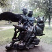 Kiev, Ivan Tsarevich on Gray Wolf