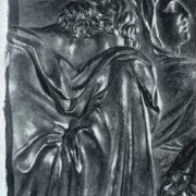 M.I. Kozlovsky. Fragment of Tombstone of P. I. Melissino. 1800. Bronze. St. Petersburg, Lazarevskaya Tomb of the Alexander Nevsky Lavra