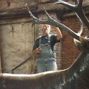 PA Fishman restores the deer. 2010