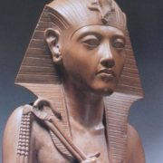 Realistic Egyptian sculpture