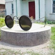 Shakhty, Rostov region. Monument to the blind