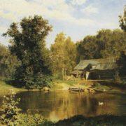 The Pond in Abramtsevo. 1883