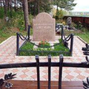 Tsvetaeva's grave in the city of Elabuga