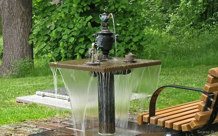 Fountain in Helsinki, Finland