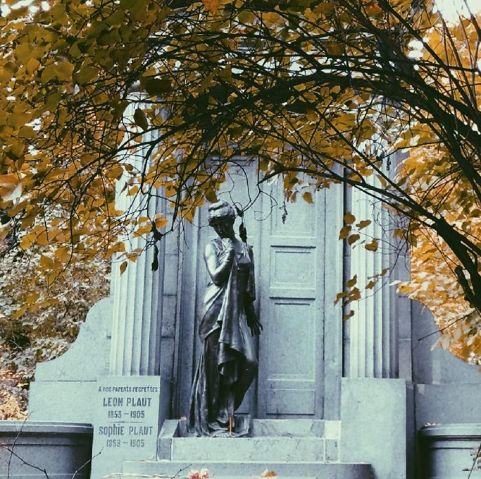 Leon and Sophie Plaut grave
