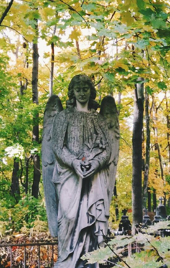 Moscow necropolis - Vvedensky cemetery monuments