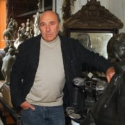 Sculptor Georgy Frangulyan