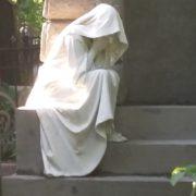 The Verkhulevsky's family crypt sculpture