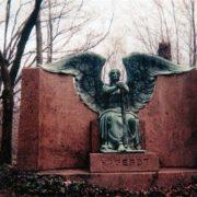 Killing people Black Angel monument