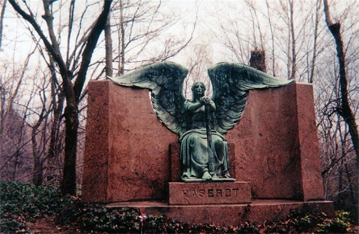 Killing people Black Angel monument