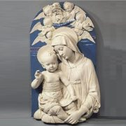 The image of Madonna with a child was incredibly popular