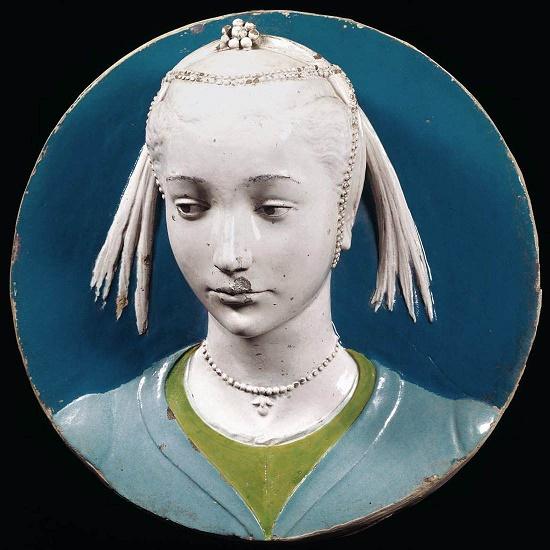 Italian Renaissance sculptor Luca della Robbia (1399 or 1400 - 23 February 1482)
