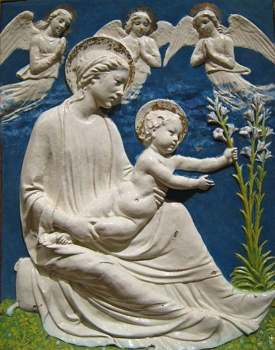 Virgin and Child with Lilies (ca.1460-70)