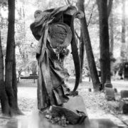 Composer Vasily Pavlovich Soloviev-Sedoy (1907-1979). Sculptural composition with a portrait. Sculptor MK Anikushin, 1985