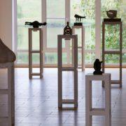 Exhibited sculptures