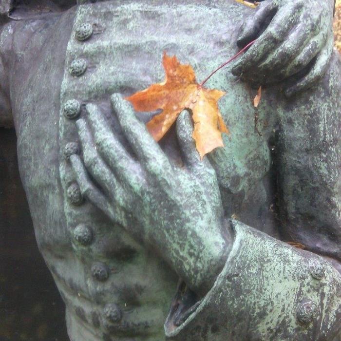 Fragment. grave monument