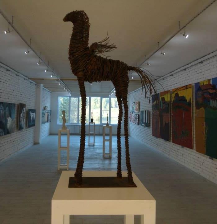 Marijan Mirt, Pegasus, steel. wire, 2010