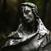 Mourning sculpture