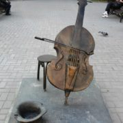 Cello in Irkutsk, Russia