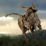 James Doran-Webb driftwood animal sculpture