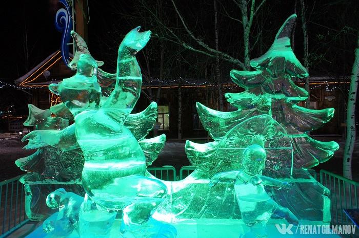 Ice sculpture. Photo Renat Gilmanov, Old Surgut