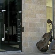 Jerusalem, Israel. Cello instruments