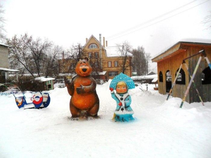 The Village of Ust-Kishert of Perm region, work of children