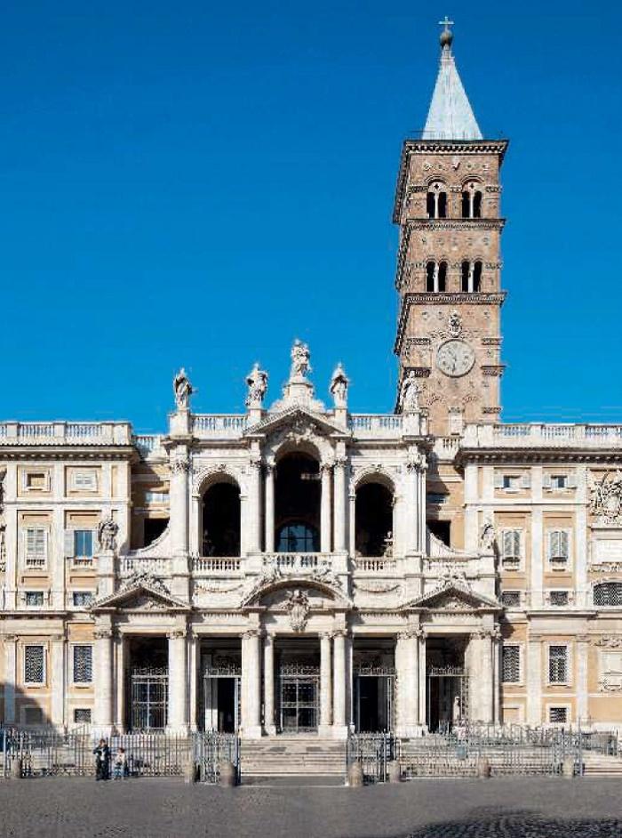 The ingenious sculptor Lorenzo Bernini - buried in the Roman church of Santa Maria Maggiore